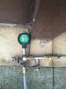 Gas wird in die Anlage gefüllt